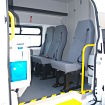 6 Seater Toilet Messing Van