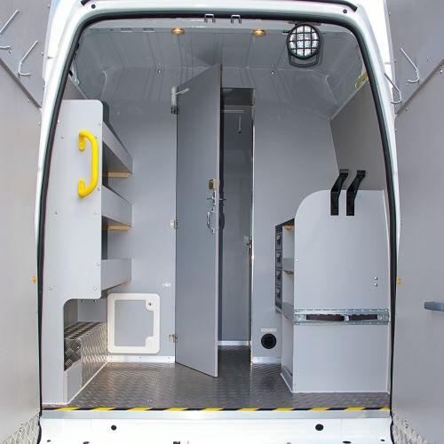 Used Work Vans >> DA Motor Fittings - Welfare Van Conversions - Messing Vans